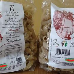 2 pacchi di tortiglioni di grano russello