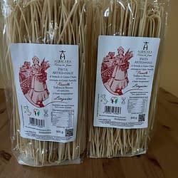 linguine di grano russello vendute in confezione da 500 grammi